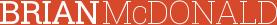 Brian McDonald Logo