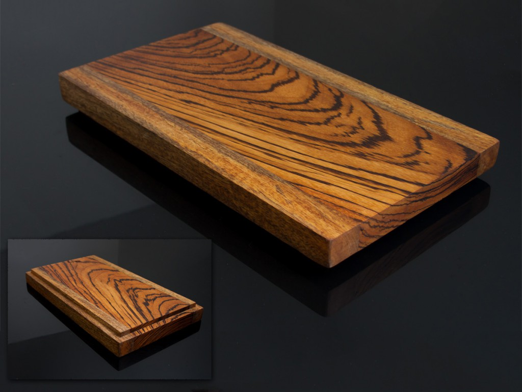 Zebrawood/Aniegre board