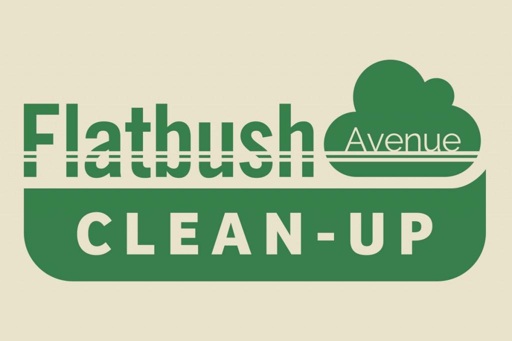 Flatbush Avenue Clean-Up Logo