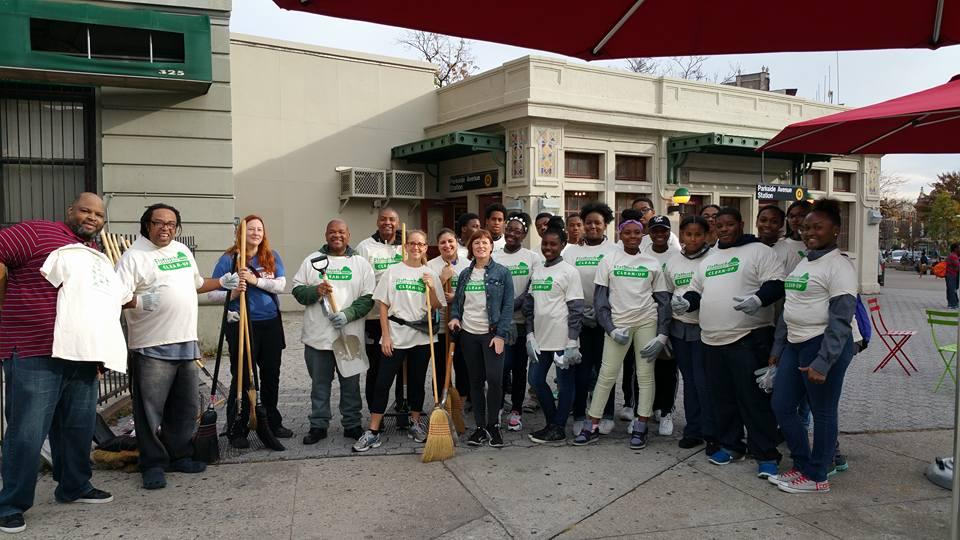 Flatbush Avenue Clean-Up Crew