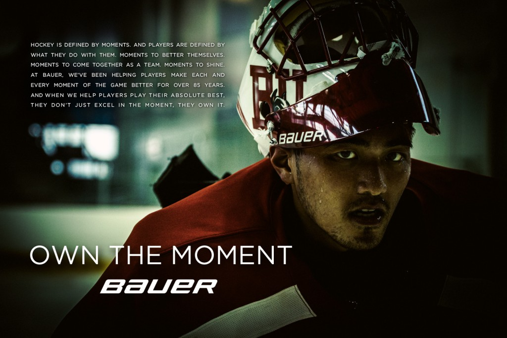 Bauer - Own the Moment concept