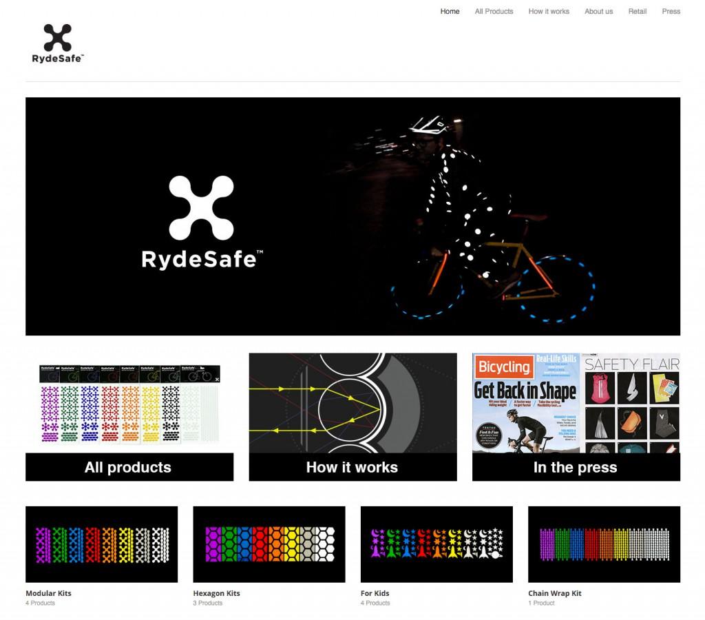 Rydesafe website image